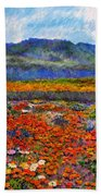 Spring In Namaqualand Bath Towel