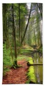 Spring In The Forest Bath Towel