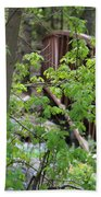 Spring In The Mountains At American Fork Canyon Utah Bath Towel