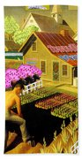 Spring In Townville Bath Towel