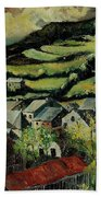 Spring In Vresse Ardennes Belgium Hand Towel