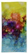 Spring Into Summer Bath Towel by Kate Word
