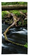 Spring Morning At Crum Elbow Creek I Bath Towel