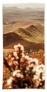 Spring Mountain Blossoms Bath Towel