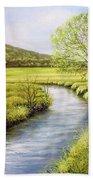 Spring On The Canal Bath Towel