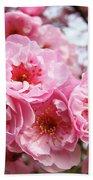 Spring Pink Tree Blossoms Art Prints Baslee Troutman Bath Towel