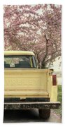 Spring Scenery Bath Towel