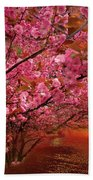 Spring Sunset Bath Towel