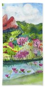 Spring To Summer Hand Towel