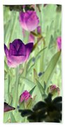 Spring Tulips - Photopower 3051 Bath Towel