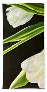 Spring Tulips Bath Towel