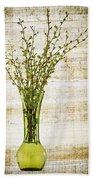 Spring Vase Bath Towel