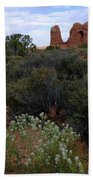 Springtime At Arches Hand Towel