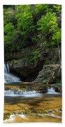 Springtime At Saint Mary's Falls Virginia Bath Towel