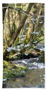 Springtime Stream In The Smokies Bath Towel