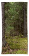 Spruce Forest  Bath Towel