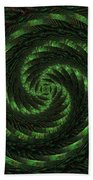 Square Crop Circles Two Hand Towel