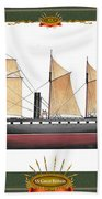 Ss Great Britain Hand Towel