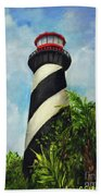 St. Augustine Lighthouse Bath Towel