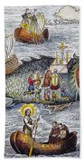 St. Brendan: Mass Bath Towel