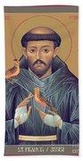St. Francis Of Assisi - Rlfob Bath Towel