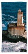 St. George Reef Light Bath Towel