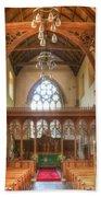 St John The Baptist Penshurst Interior Bath Towel