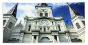 St. Louis Cathedral - Nola- Art Hand Towel