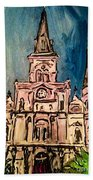 St. Louis Cathedral Bath Towel