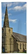 St Mary's Church - Coton In The Elms Bath Towel
