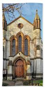 St Michael And St George R.c Church - Lyme Regis Bath Towel