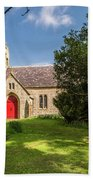 St Oswald's Church Entrance Bath Towel