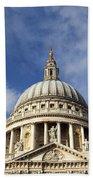 St Pauls Cathedral London England Uk Bath Towel