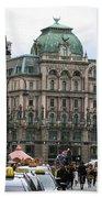St Stephens Square Vienna Bath Towel