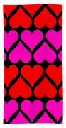 St. Valentine Love Bath Towel