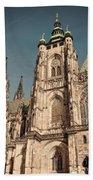 St Vitus Cathedral Prague Bath Towel