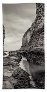 Stack And Chalk Cliff Bath Towel
