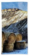 Stacked Mountains  Bath Towel