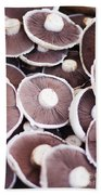 Stacked Mushrooms Bath Towel