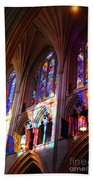 Stain Glass Cathedral Bath Towel