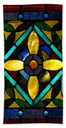 Stained Glass 1 Bath Towel
