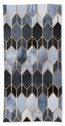 Stained Glass 4 Bath Towel by Elisabeth Fredriksson