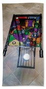 Stained Glass Sofa Table Bath Towel