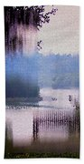 Stained Glass View Bath Towel