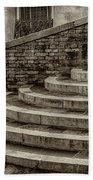 Stairs To Canal Bridge Venice_dsc1637_03012017  Bath Towel