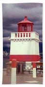 Stanley Park Lighthouse Bath Towel