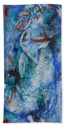 Star Dancer Bath Towel