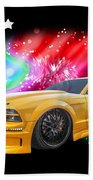 Star Of The Show - Mustang Gtr Bath Towel