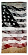 Star Spangled Banner Bath Towel