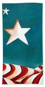 Star Spangled Hand Towel by Cindy Thornton